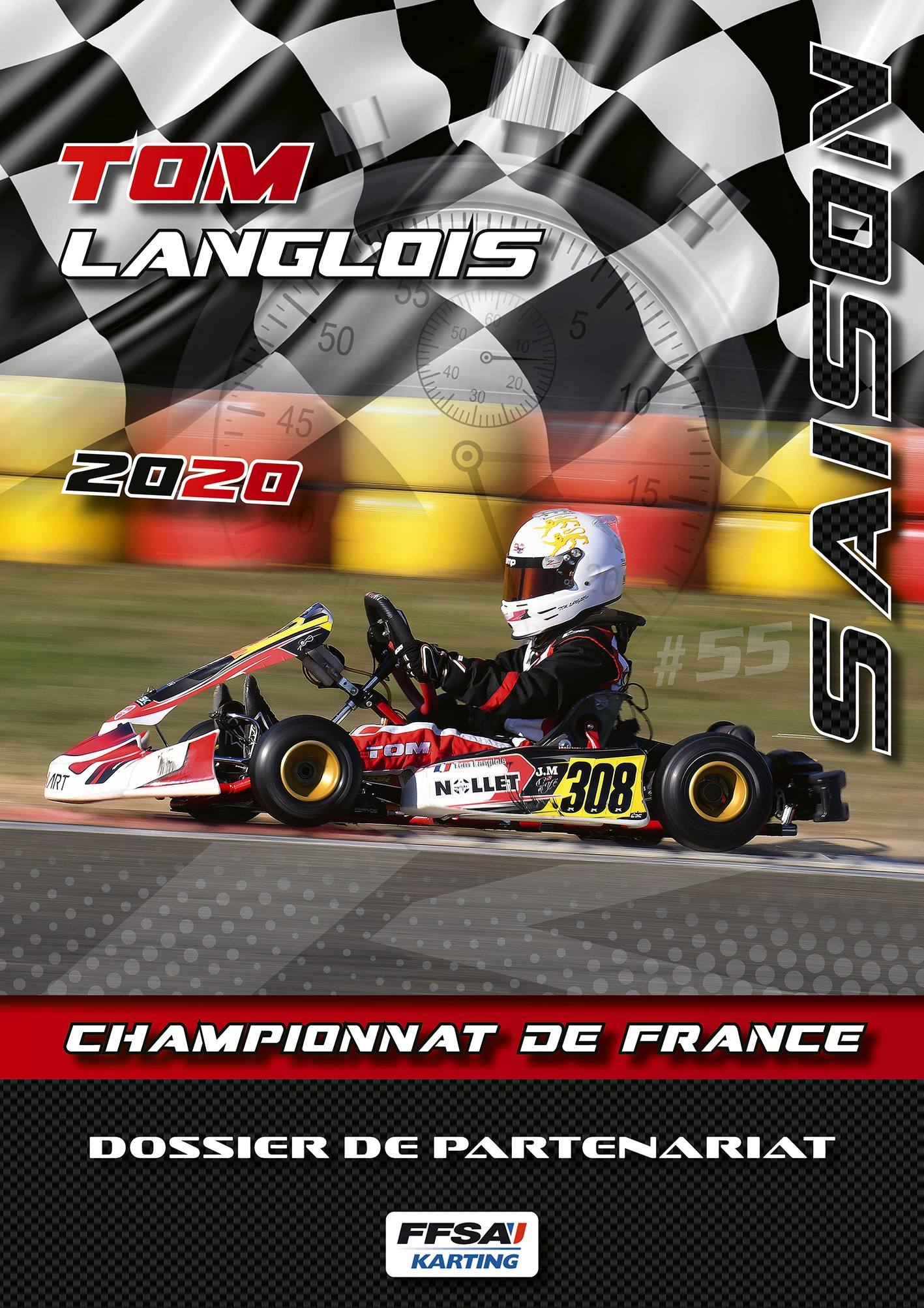 book pilote de karting